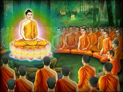 Belief in the Lord Buddha's Enlightenment.