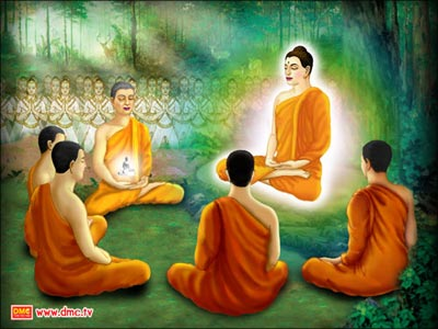 The Lord Buddha compared craving to the resin of the persimmon tree or varnish which are some of the stickiest forms of sap.