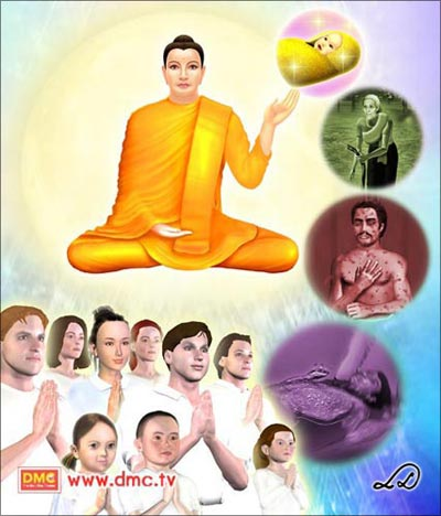 The Lord Buddha taught that suffering as a result of illness comes from the malfunction of the bodily elements.