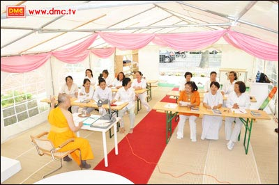 Listen to Dhamma teaching will bring many benefits to us.