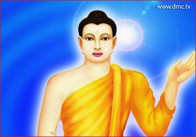 the Lord Buddha, who had supreme intelligence and discovered by himself ways to stop suffering.